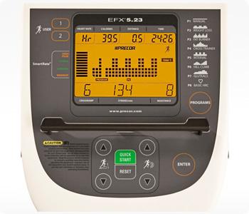 Precor-efx-523-elliptical-console